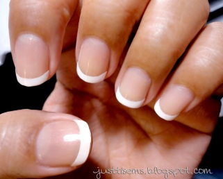 French manicure nail it to yourself in the tutorial she also gives you tips about doing the french manicure which is very helpful here are 8 quick steps as well to help you create the french solutioingenieria Images